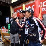 Ingo, Radlwolf und Michi bei der Startnummen Tombola