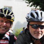 Radlwolf´s Jugendfreund Manfred Koschat`ist extra aus Graz angereist