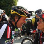 Radlwolf im Gespräch mit VSC-Villach Obfrau Ingrid Naschenweng