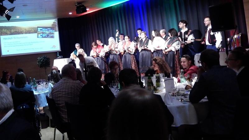 die Tamburizza Gruppe sorgte für die musikalische Untermalung des Abends