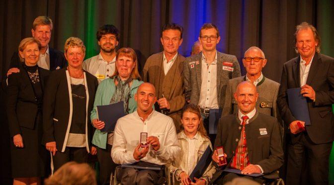 ÖBSV Ehrenzeichen in Gold für Wolfgang Dabernig