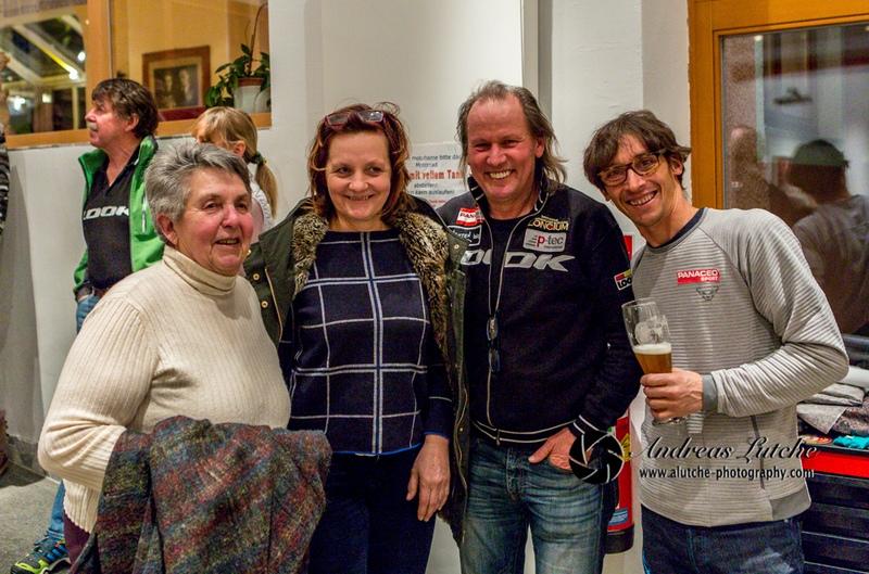 Maria, Karin, Radlwolf und Michi
