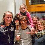 Radlwolf, Michi mit Ylvie, Markus und Silke