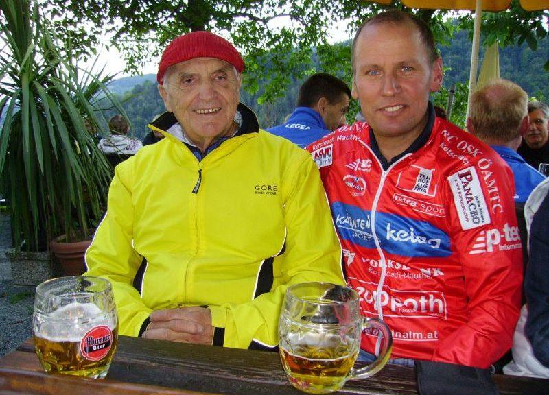 Adolf Klingberg und Wolfgang Dabernig