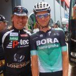 Radlwolf mit Felix Großschartner der auch einen hervorragenden Giro fährt