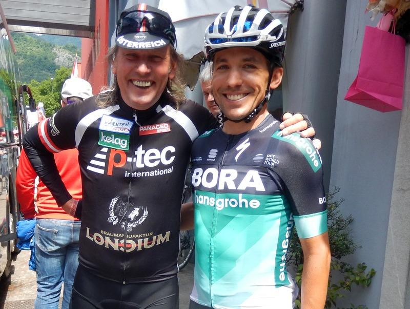 Radlwolf und Cesare Benedetti ITA