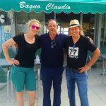 Dani und Radlwolf genossen den letzten Cappuccino bei Claudio und auf Wiedersehen bis zum nächsten Jahr!