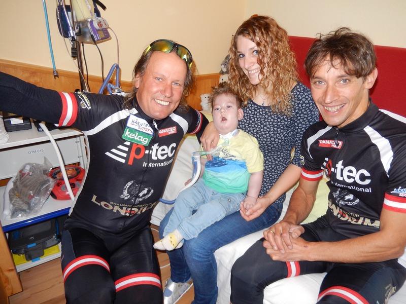 Die freiwilligen Spenden kommen für den seit seiner Geburt schwerst behinderten Marius Wurmitsch aus Grafendorf