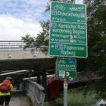 weiter geht es vom Drauradweg auf den Karnischen Radwanderweg