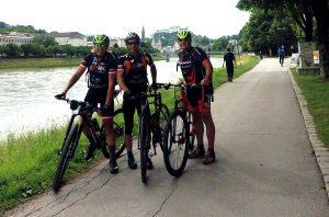 """Start """"Alpe Adria Radweg"""" in Salzburg"""