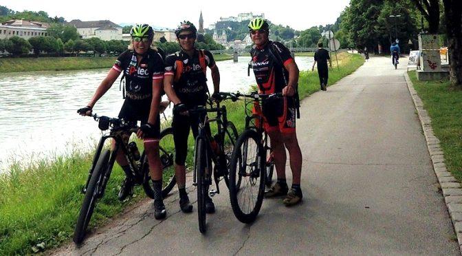 Radlwolf mit Freunden zum 60er am Alpe Adria Radweg Salzburg – Grado