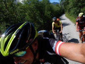 """Radlwolf, Michi und Kurt am """"Alpe Adria Radweg"""""""