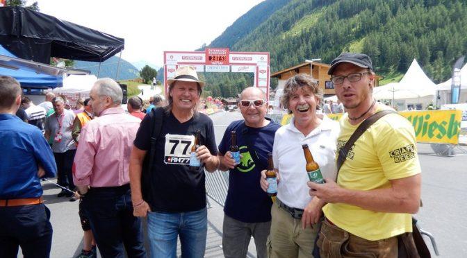 Radlwolf mit Freunden bei der 70. Österreich Rundfahrt 2018