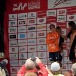 bester Österreicher in der Gesamtwertung ist der Niederösterreicher Hermann Pernsteiner vom Team Bahrain - Merida