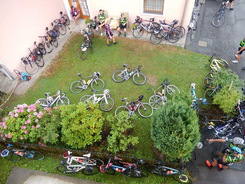 Fahrradparkplatz