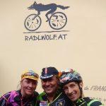 Dani Schelch, Radlwolf und Michi Kurz