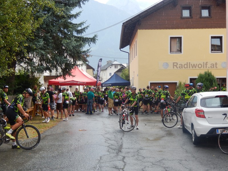 """""""Tour de Franz 2018"""" in der Radlwolfi Olympiagasse"""