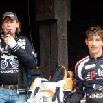 Radlwolf und Michi freuen sich über die gelungene Veranstaltung