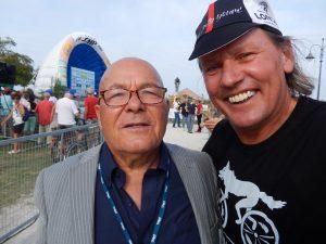 Radlwolf hatte die Ehre Paolo Pantani, Vater von Marco Pantani zu treffen und persönlich kennen zu lernen