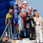 Siegerehrung mit Paolo Pantani, Vater von Marco Pantani