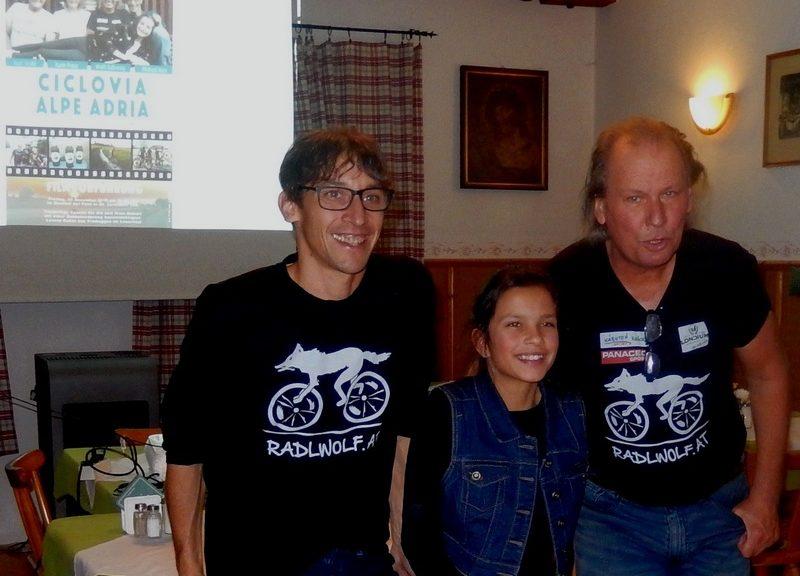 Michi Kurz, Lorena Kubin und Radlwolf