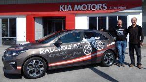Radlwolf freut sich über den neuen Kia Ceed