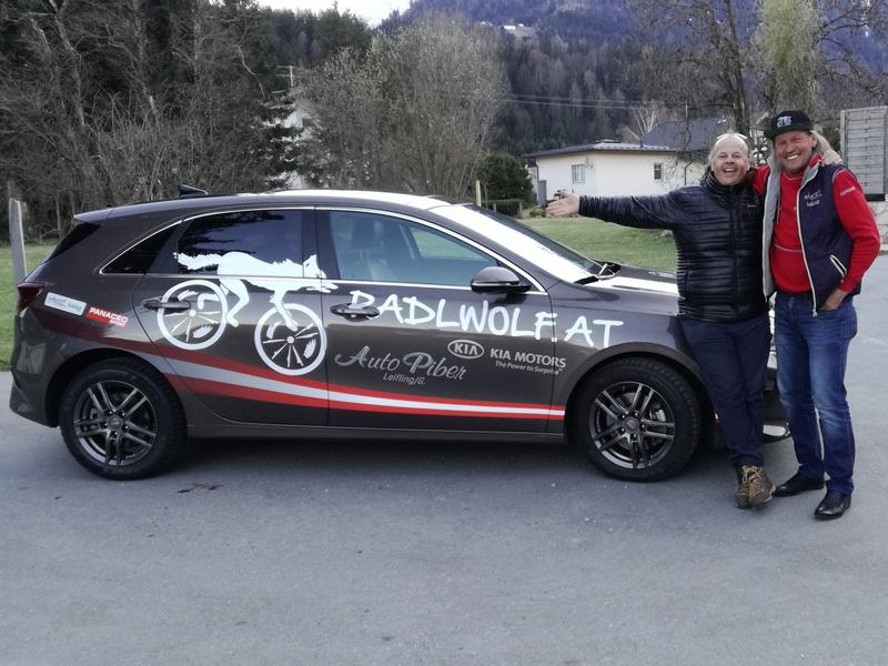 Christian Stornig (Grafikdesign und Multimedia) machte den Entwurf und die Gestaltung des neuen Kia Ceed von Radlwolf