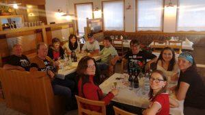 Ende der Radwoche am Plöckenpass und Wiedersehen mit Karin, Iris, Lea und Nele