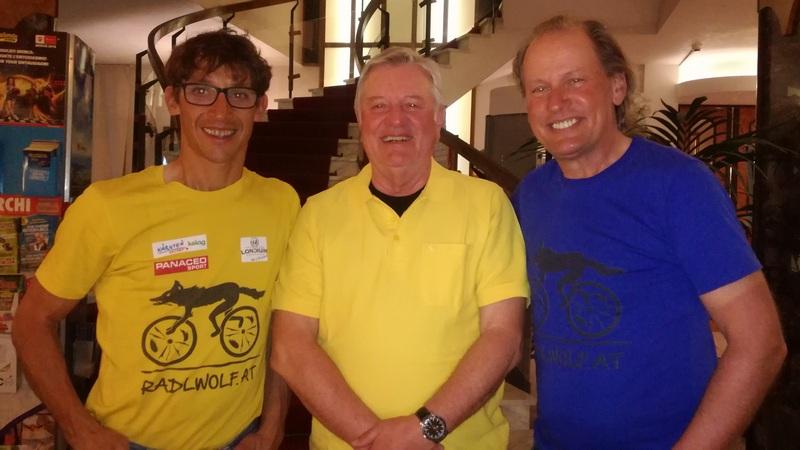 Theo Tolschiner aus München ist ein großer Fan von Michi und Radlwolf, ist er jedes Jahr bei den Filmvorführen mit Begeisterung dabei