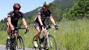 """Michi und Radlwolf freuen sich auf rege Teilnahme beim """"6. Radeln, Laufen und Wandern für den guten Zweck"""""""