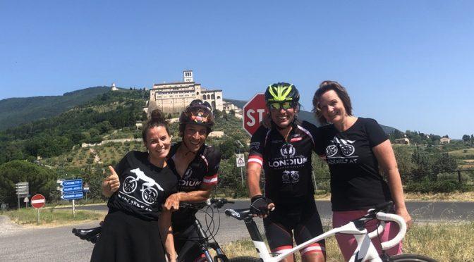 Kötschach – Assisi per Fahrrad 2019