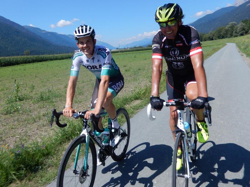 Gregor und Radlwolf am Gailradweg R3