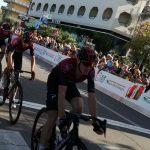 """das Ineos Team mit """"Tour de France Sieger 2019 Egan Bernal"""" Foto: © Radlwolf"""