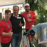 Alexander Radin (Special Olympics Sportler), Radlwolf, Ausdauer und Benefizradler Dominik Pacher