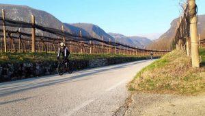 """Radeln auf wunderschönen Straßen in der """"Ramandolo Weingegend"""" nahe von Nimis, Foto: © Ossi Jochum"""