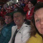 Christine, Ossi, Radlwolf und Karin waren begeistert von der gelungenen Abschlussfeier der Special Olympics Winterspiele 2020 in Villach