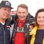 Radlwolf, Schisprunglegende Hans Millonig und Karin Franz