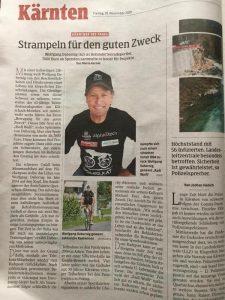 """Kleine Zeitung """"Kärntner des Tages"""""""