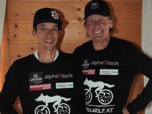 Die Paralympioniken Michael Kurz und Wolfgang Dabernig