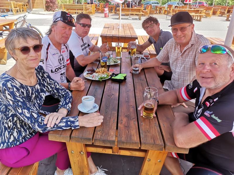 Isabella, Wolfgang, Michael, Michi, Josef und Kurt, Foto: © Josef Dabernig