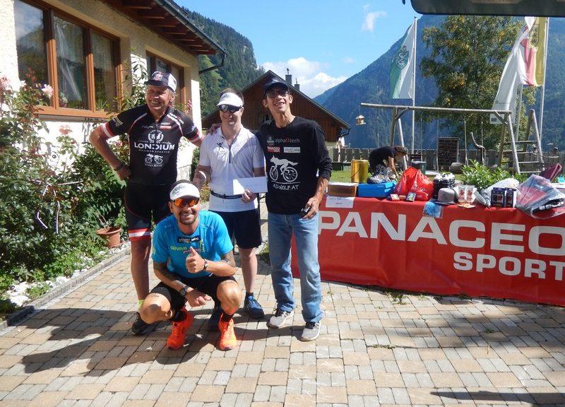 v.l. Radlwolf, Dominik Pacher, Alexander Radin und Michi Kurz, Foto: © Karin Franz